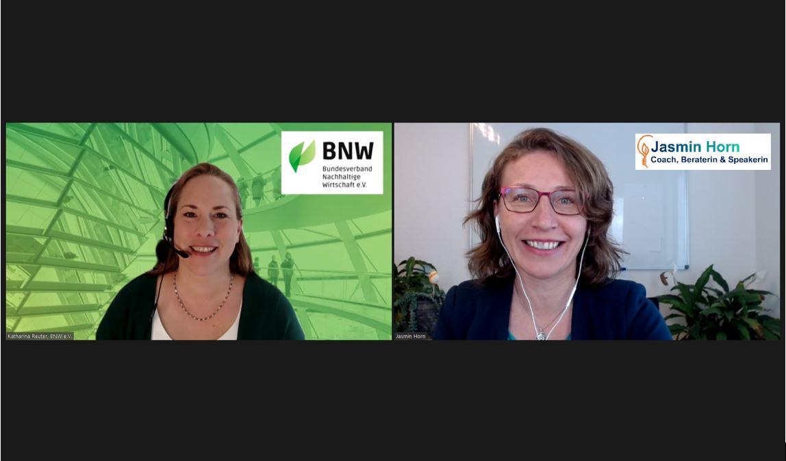Sustainable Business Champions_Verbandsarbeit für Nachhaltigkeit_Katharina Reuter_Jasmin Horn