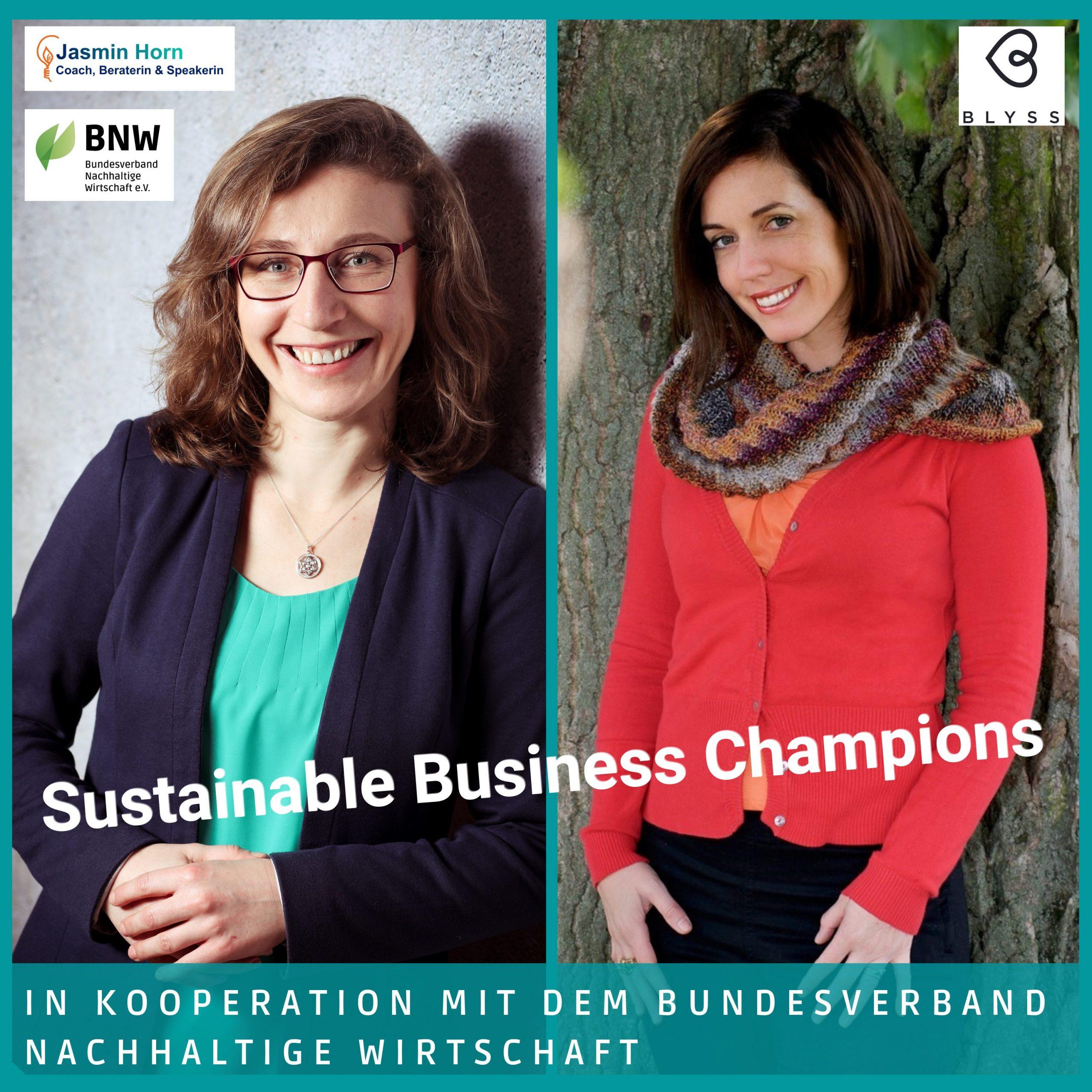 Podcast Sustainable Business Champions_Nachhaltige Schokoladenproduktion mit Alyssa Jade McDonald-Baertl und Jasmin Horn_Facebook