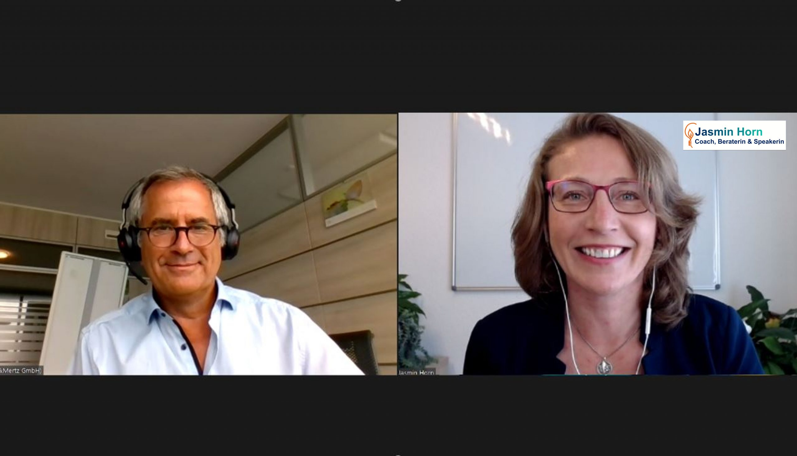 Podcast Sustainable Business Champions_Nachhaltige Reinigungsmittel und Verpackungen mit Timothy Glaz von Werner & Mertz und Jasmin Horn